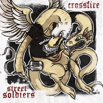 "split Crossfire / Street Soldiers ""same"" EP 7"" (lim. 104, red)"