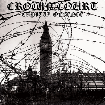 "Crown Court ""Capital offence"" LP (lim. 600, clear red)"