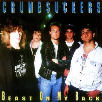 "Crumbsuckers ""Beast on my back"" LP (lim. lime green)"