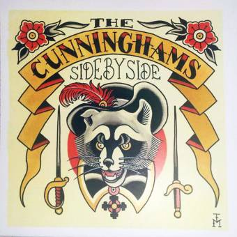 "Cunninghams, The ""Side by side"" EP 7"" (lim. 96 red vinyl, cover 3)"