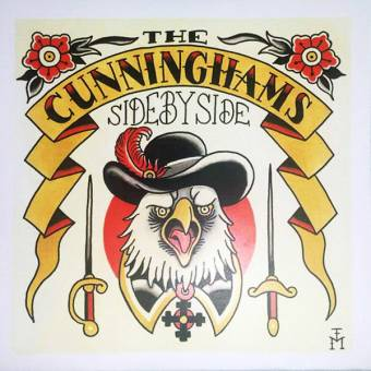 "Cunninghams, The ""Side by side"" EP 7"" (lim.140 black vinyl, cover 4)"
