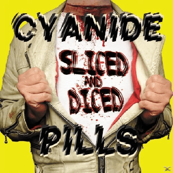 "Cyanide Pills ""Sliced and diced"" LP (lim. 700, pink)"