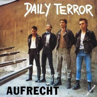"""Daily Terror """"Aufrecht"""" LP (lim. 400, black)"""