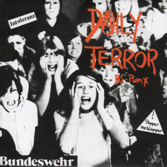 "Daily Terror ""BS-Punx"" EP 7"" (black)"