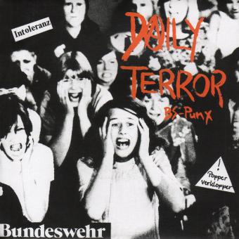 "Daily Terror ""BS-Punx"" EP 7"" (black)"