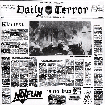 "Daily Terror ""Klartext"" EP 7"" (black)"