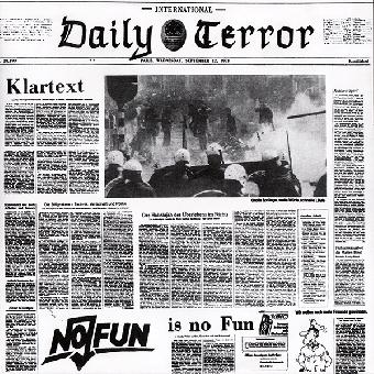 "Daily Terror ""Klartext"" EP 7"" (black)"