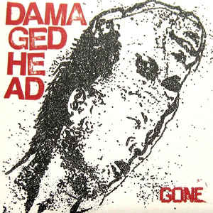"Damaged Head ""Gone"" EP 7"" (black)"