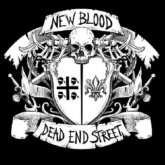 "split New Blood / Dead End Street ""same"" EP 7"" (lim. 300, black)"