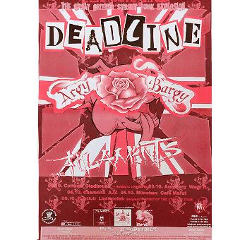Deadline / Argy Bargy A3 Poster (gefaltet)