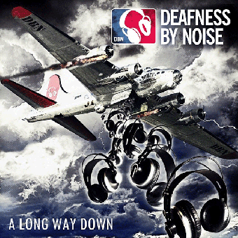 "Deafness By Noise""A long way down"" LP (lim. 100, clear)"