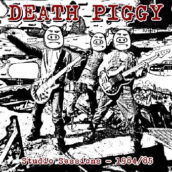 "Death Piggy ""Studio Sessions - 1984/85"" LP (lim. 200, black)"