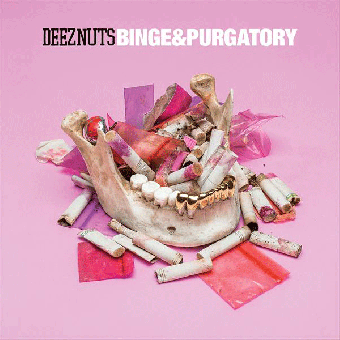 "Deez Nuts ""Binge & Purgatory"" LP+CD (lim. black)"