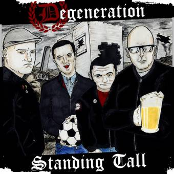"Degeneration Standing Tall"" LP (lim. orange marbled)"