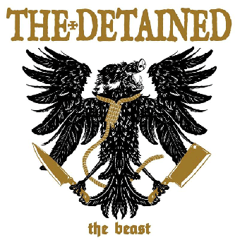 """Detained, The """"The Beast"""" LP (lim. 300, tri-color) + MP3"""