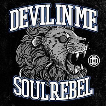 """Devil In Me """"Soul Rebel"""" LP (lim. blue/white)"""