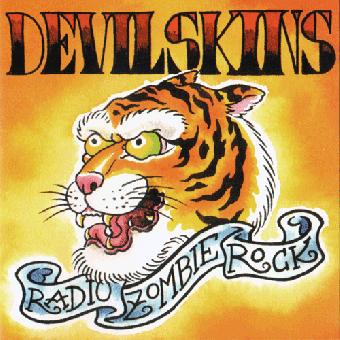 "Devilskins ""Radio Zombie Rock"" CD"