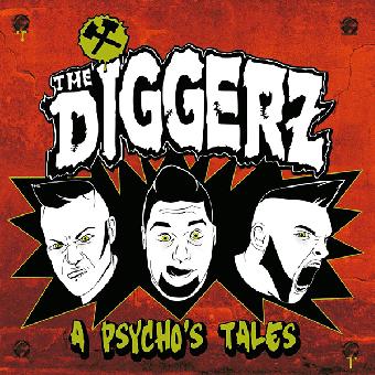 """Diggerz """"A Psycho`s Tale"""" LP"""