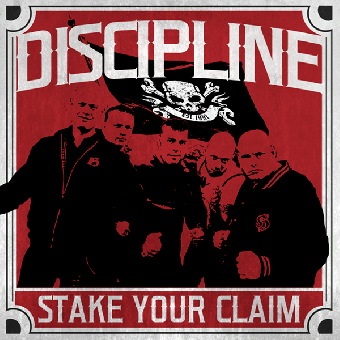 "Discipline ""Stake your claim"" LP (lim. 600, red)"