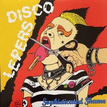 """Disco Lepers """"Sophisticated Shame"""" LP (lim. 400, black)"""