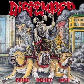 "Distemper ""Pride Belief Love"" CD (DigiPac)"