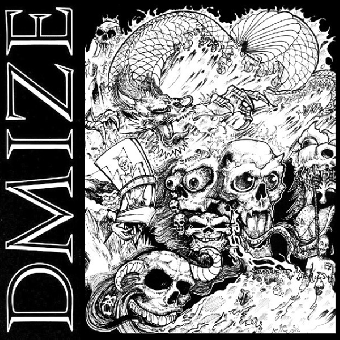 "DMIZE ""The Demos"" LP (lim. 200, black) + A2 Poster"