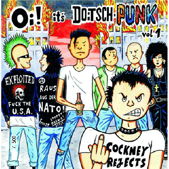 "V/A ""Oi! it`s Doitschpunk"" LP"