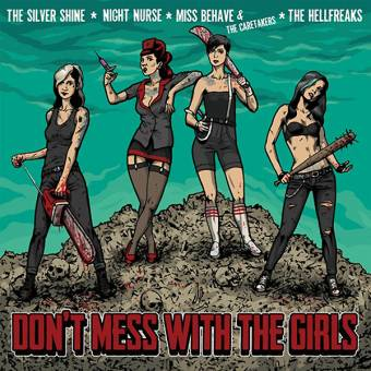 "V/A ""Don't mess with the Girls"" LP (lim. 666, red)"