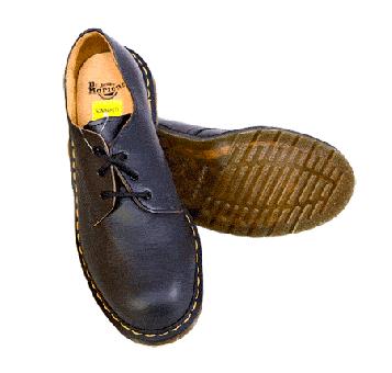 Dr.Martens Boots Stahl/Steel (3Loch)