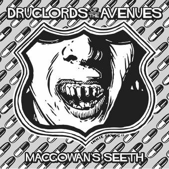 "Druglords of the Avenue ""MacGowan`s Seeth"" EP 7"" (lim. 250, silver-black + DL)"