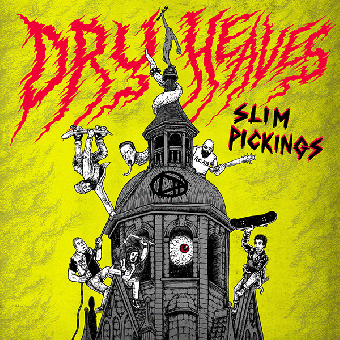 "Dry Heaves ""Slim Pickings"" LP (black)"