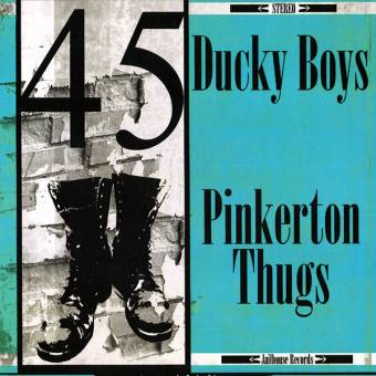 "split Pinkerton Thugs / Ducky Boys ""45 Revolution"" EP 7"" (lim. yellow)"