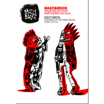 BASTARDS Pathways to Portuguese Punk (1977-2014) DVD