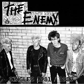 "Enemy, The ""Singles 1981 / 1983"" LP (lim. 300, black)"