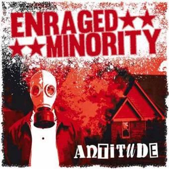 """Enraged Minority """"Antitude"""" LP"""
