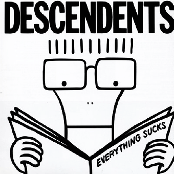 "Descendents ""Everything sucks"" LP (black)"