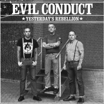 "split Evil Conduct / Marching Orders ""Yesterday`s Rebellion"" EP 7"" (black)"