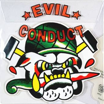 """Evil Conduct """"That old Tattoo"""" PicEP 11"""" shaped (lim. 1000)"""
