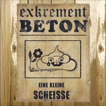 """Exkrement Beton """"Eine kleine Scheisse"""" LP (lim. 300, green)"""