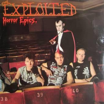 "Exploited ""Horror epics"" LP (lim. 1000, green)"