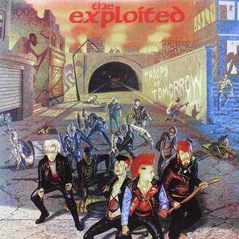"Exploited ""Troops of tomorrow"" Deluxe DoLP (lim. 1000 red / blue)"