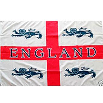 England (4 Lions) - Fahne / Flag