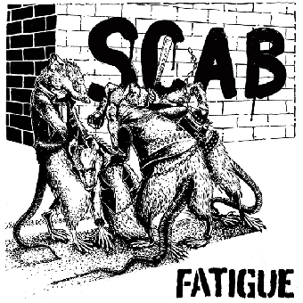"""Fatigue """"Scab"""" EP 7"""" (lim. 250, black)"""
