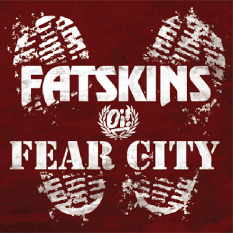"split Fatskins / Fear City ""same"" EP 7"" (lim. 200, black)"