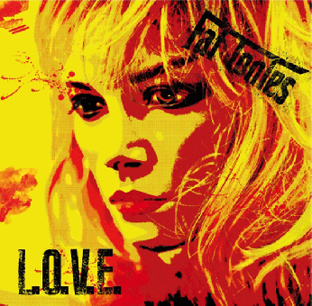 """Fat Tonies """"L.O.V.E."""" EP 7`"""" (lim.200, splatter + MP3)"""