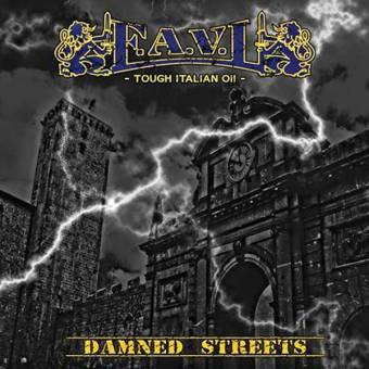 "F.A.V.L. ""Damned Streets"" 7"" EP (lim. 100, bronze)"