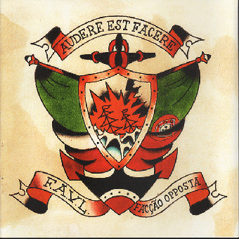"split F.A.V.L. / Faccao Opposta EP 7"" (lim. 300, black)"
