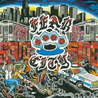 "Fear City ""Our way of life"" LP (lim. 200, tri-color)"