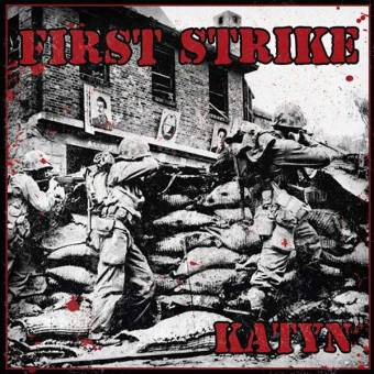 "First Strike ""Katyn"" EP 7"" (lim. 200, black)"
