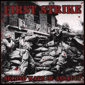 """First Strike """"Second wave of assault"""" LP (lim. 150, red)"""